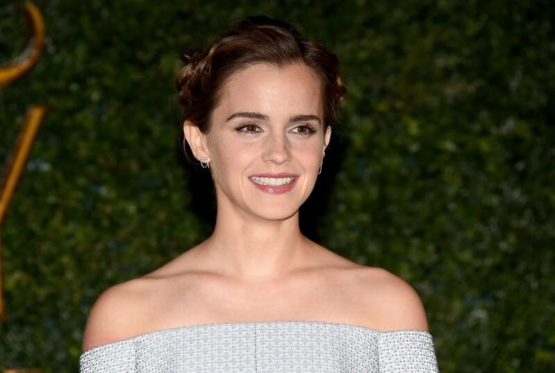 Emma Watson en la premiere de 'The Beauty & the beast'