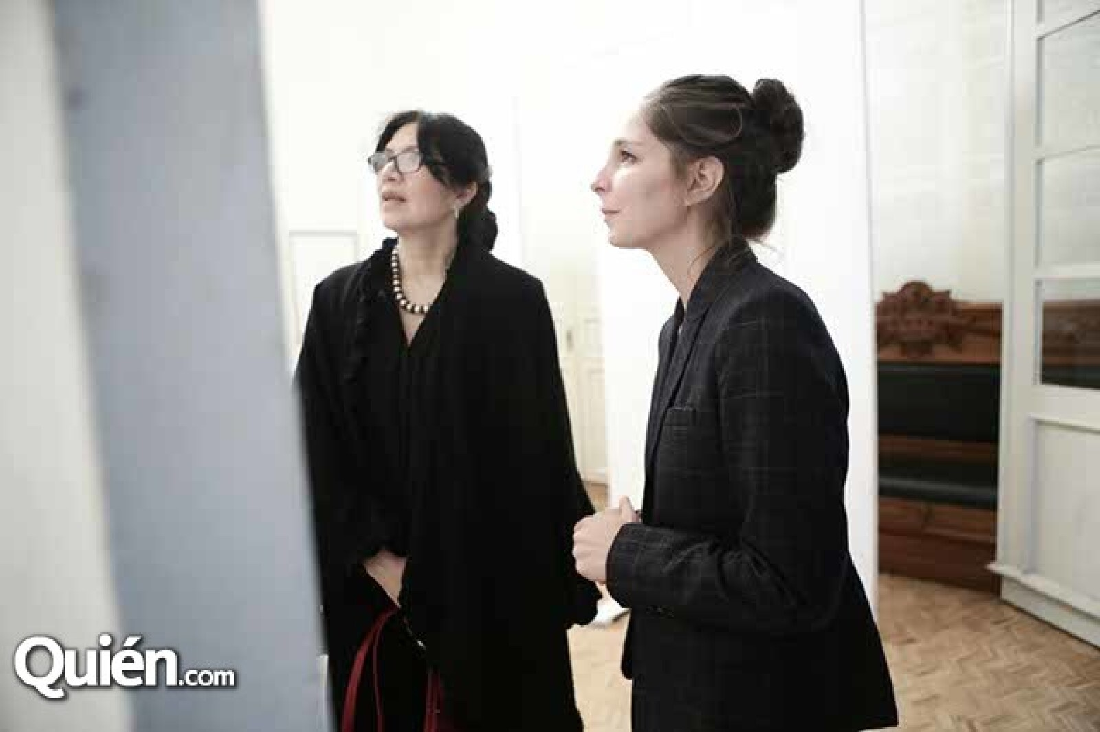Ángela Silva y Liza Trottet