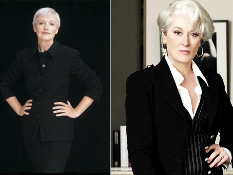 Liz Tilberis fue inspiración para el vestuario de Miranda Priestly