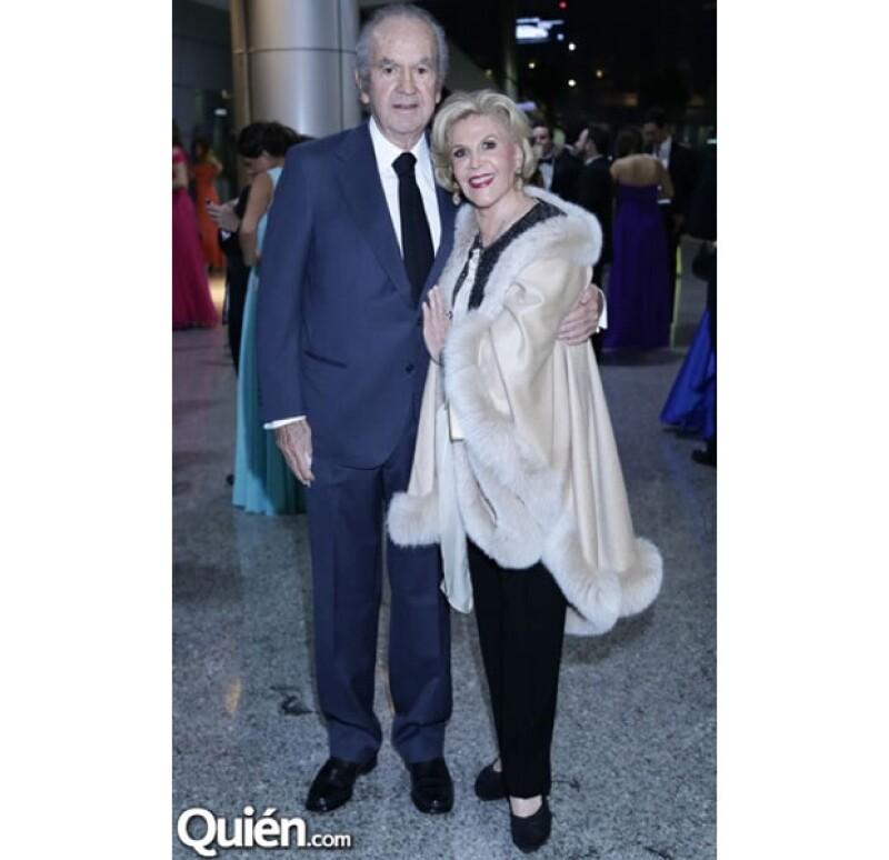 Alberto y Tere Baillères estuvieron presente en la celebración.