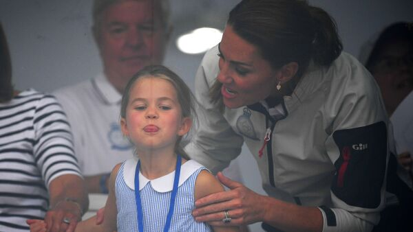 Kate Middleton y la princesa Charlotte