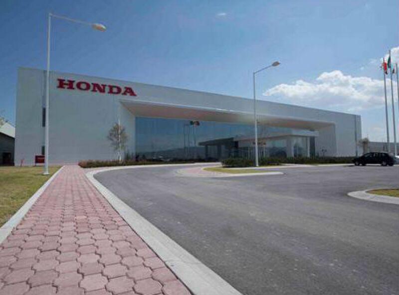 planta de Honda en Celaya