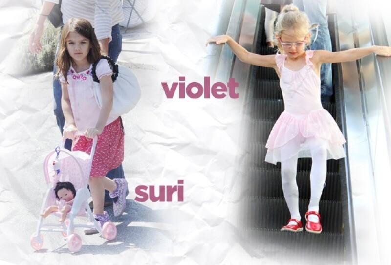 Suri y Violet son muy femeninas.