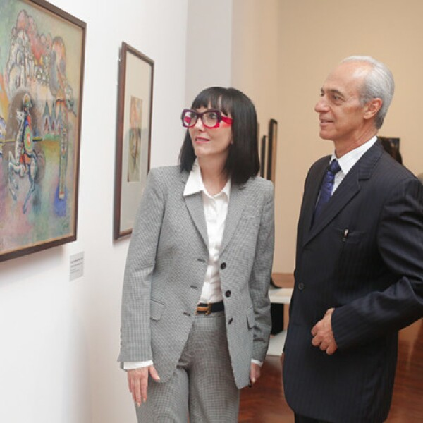 Ana Cristina Cabezut y Elías Sacarías