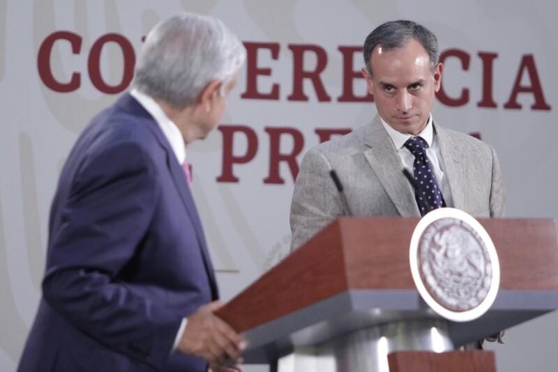 AMLO y López-Gatell