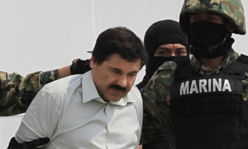 Joaquín Guzmán se convirtió en uno de los mayores introductores de cocaína a Estados Unidos. (Foto: Reuters)