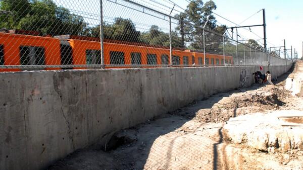 linea a La Paz obra pluvial
