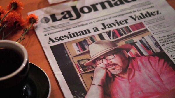 Una investigación sobre el narco le costó la vida al periodista Javier Valdez