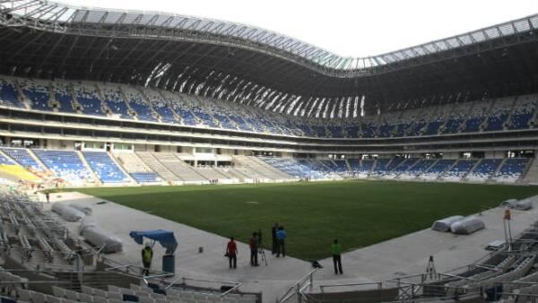 Nuevo estadio de los Rayados del Monterrey