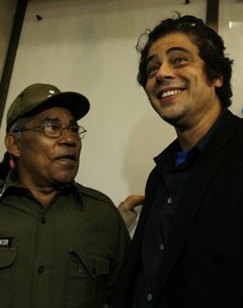 El actor interpreta al Che en la cinta que dirigió el estadounidense Steven Soderbergh.