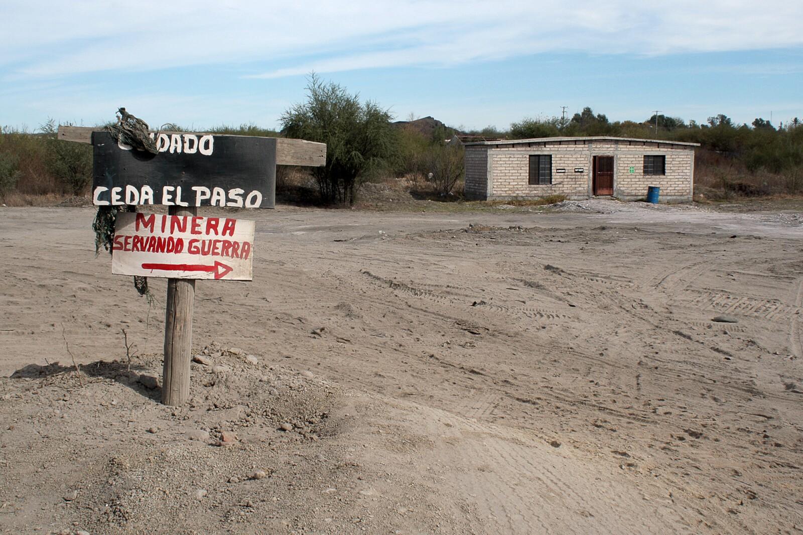 En las concesiones de Álvaro Jaime Arellano trabajan varias empresas, como la de Servando Guerra.