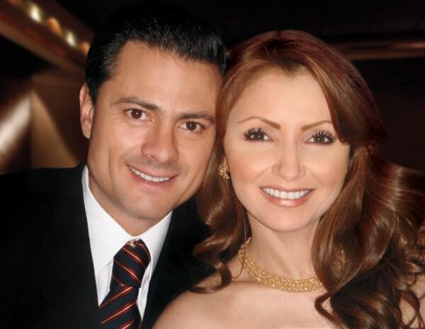Enrique Peña Nieto y su Primera Dama, Angélica Rivera
