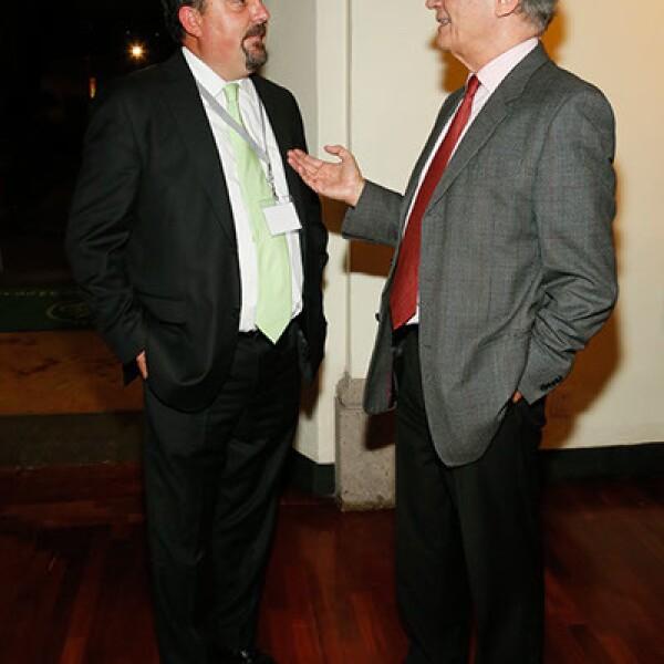 Jaime Laris y Roberto Gómez