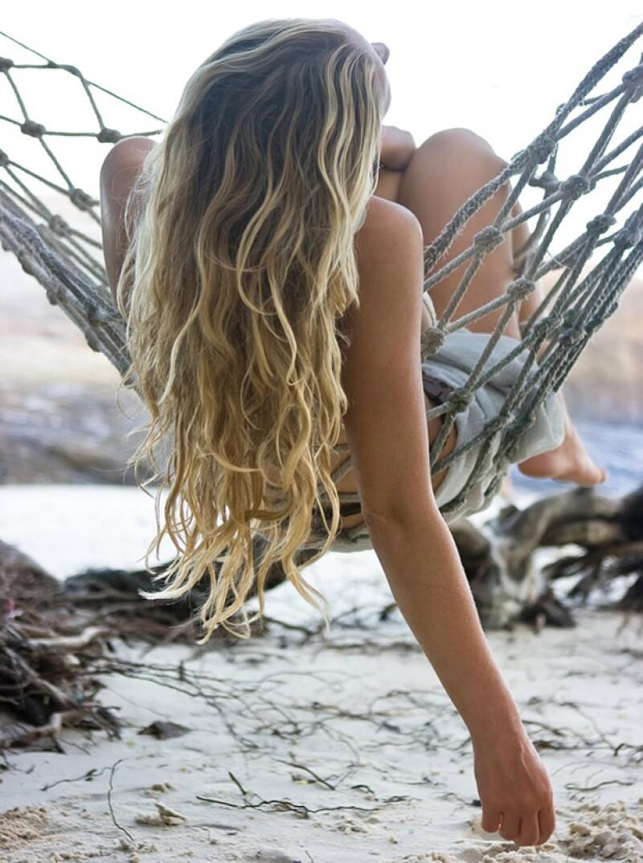 Con un sea salt spray, es muy facil conseguir este resultado en tu pelo.
