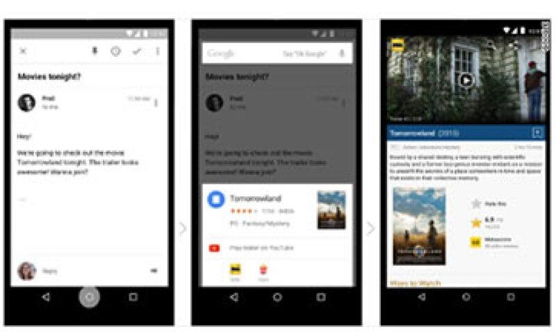 Google Now on Tap es la nueva función del sistema operativo Android Marshmallow. (Foto: Google)