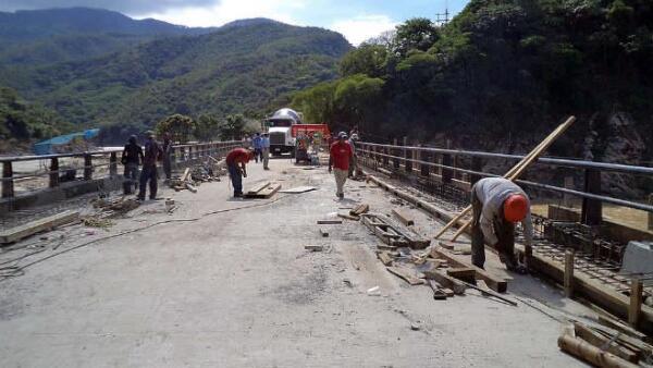 Construcci�n carretera