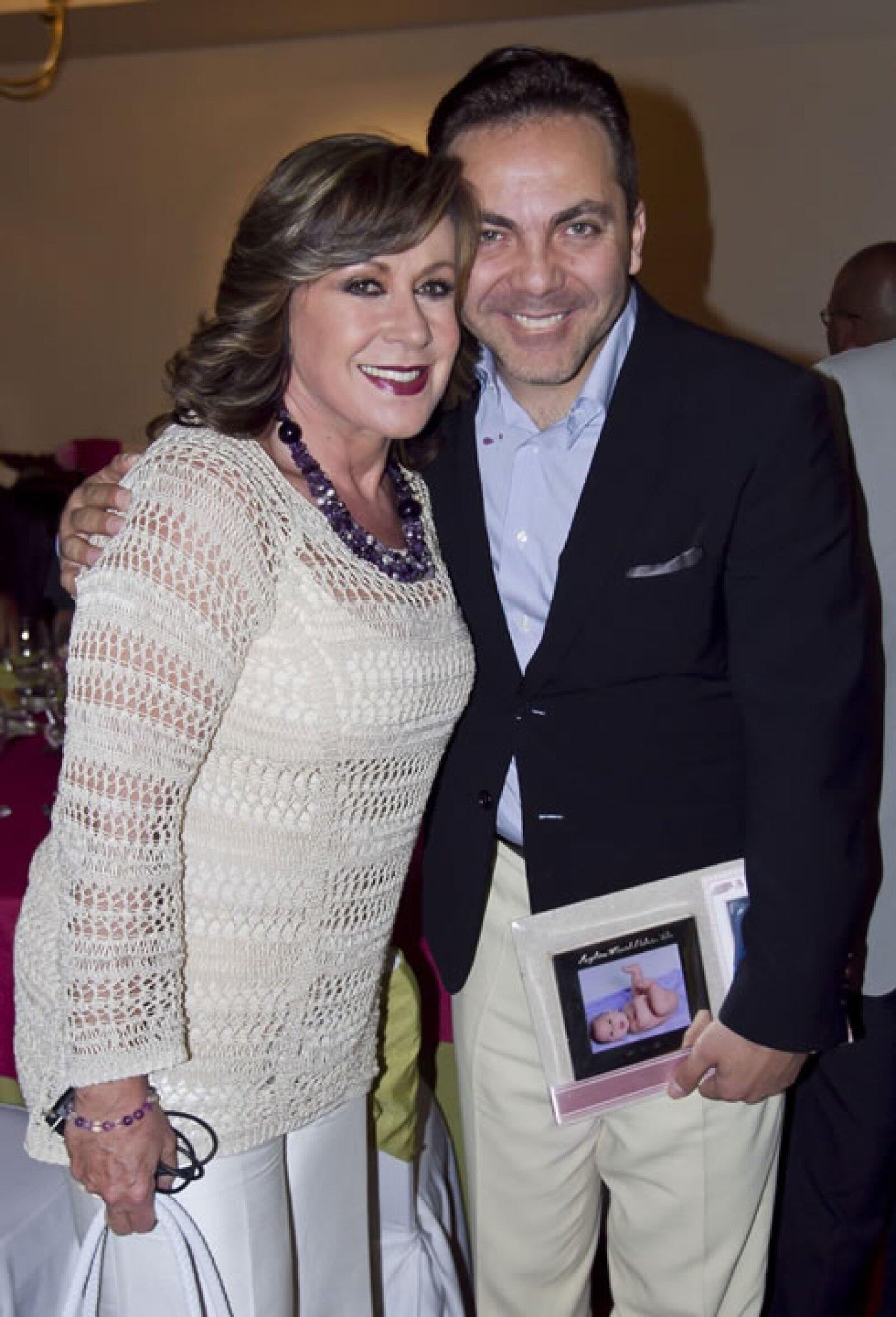 Laura Zapata y Cristian Castro.