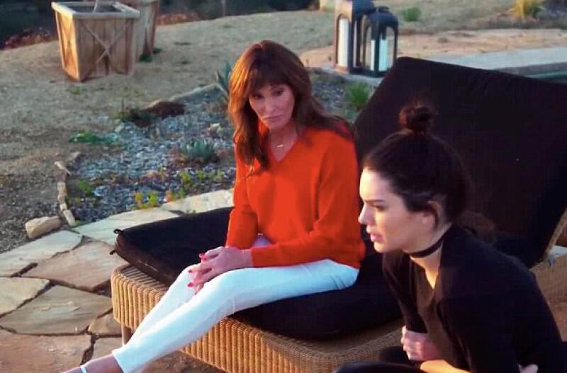 Kendall y Caitlyn se han sentado a platicar por fin.