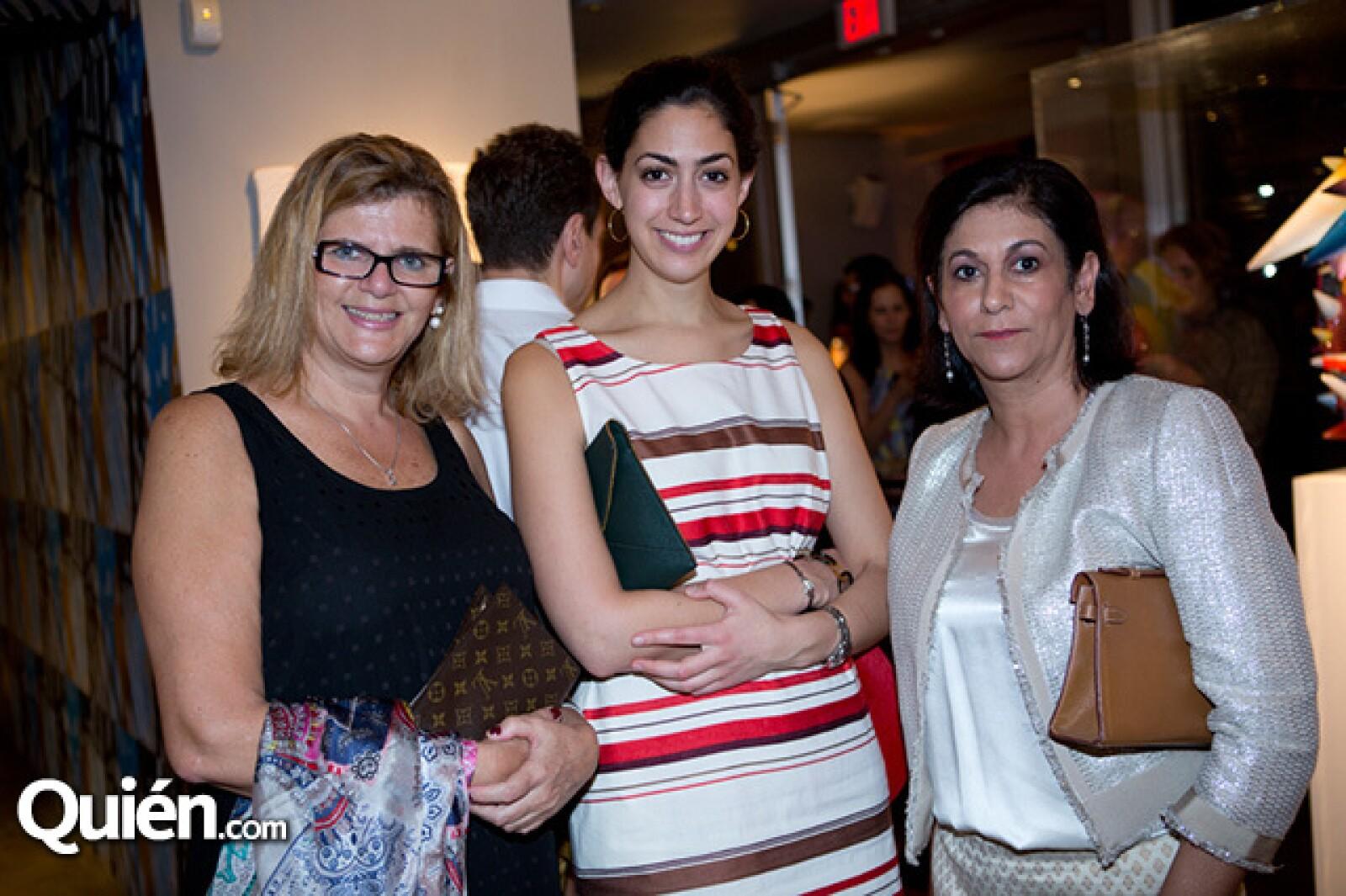 Ruthy Dvir,Stephanie Nass y Gita Schamdasani