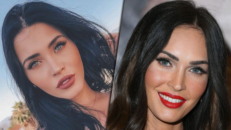 Claudia Alende y Megan Fox