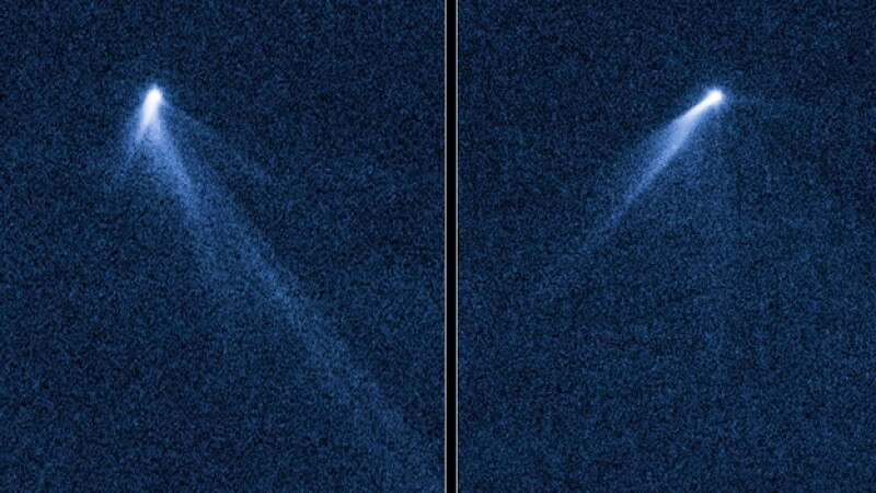 asteroide con 6 colas