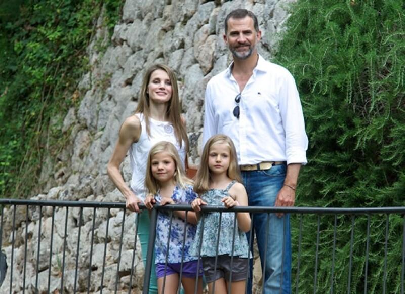 De divorciarse, las niñas Leonor y Sofía quedarían bajo custodia de su padre.