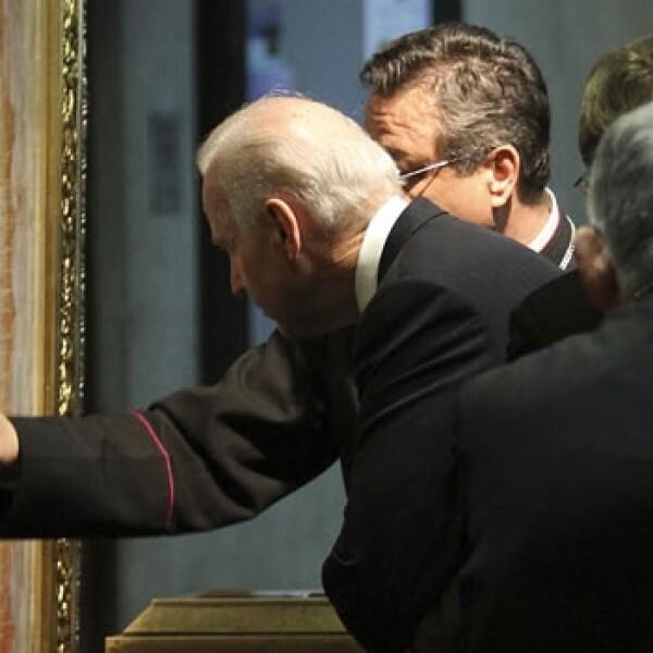 El vicepresidente de EU visita la Basílica de Guadalupe