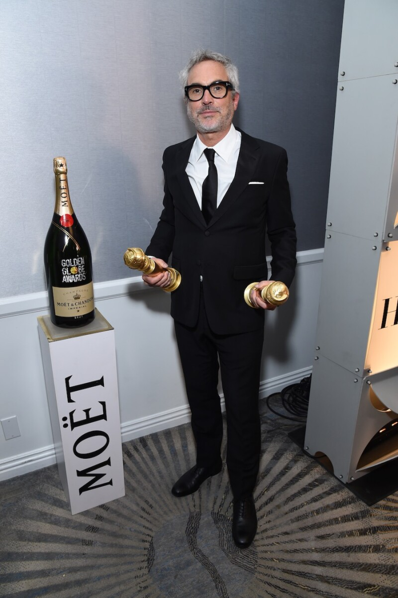 Moet & Chandon At The 76th Annual Golden Globe Awards - Backstage