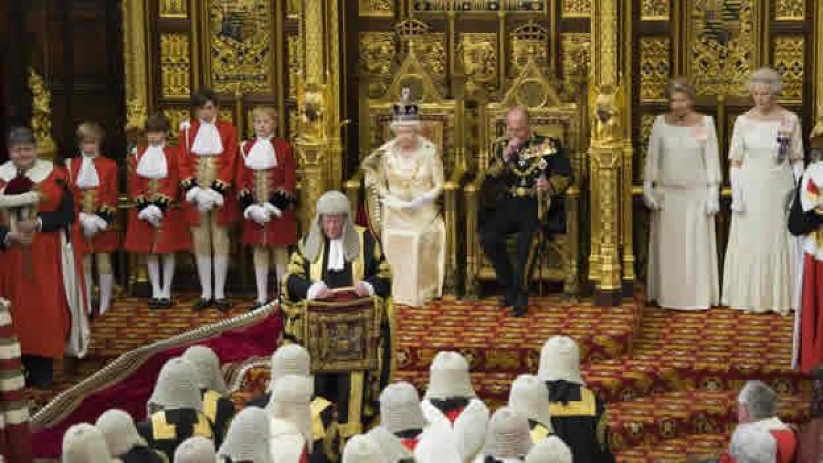 apertura parlamento britanico reina isabel discurso