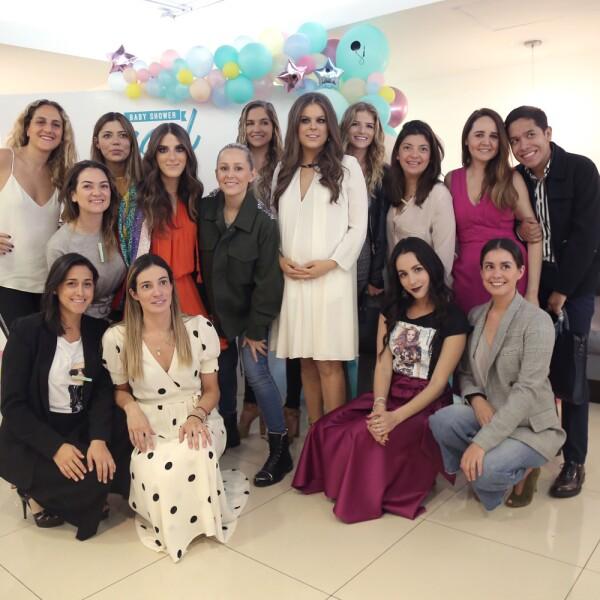 Baby shower Yael Sandler