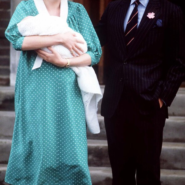 Birth of Prince William, Lindo Wing, St Mary's Hospital, London, UK - 1982