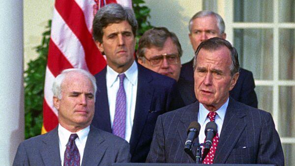 El ex presidente de Estados Unidos murió en Texas a los 94 años.