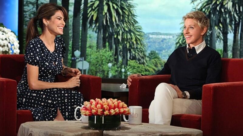 Eva bromeó con que vería la película romántica `The Notebook´ de Ryan Gosling el día de San Valentín.