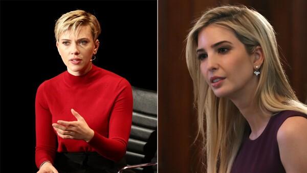 Scarlett Johannson e Ivanka Trump