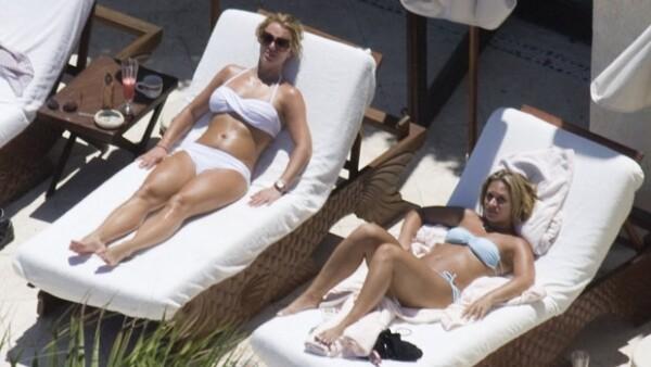 Ixtapa, Vallarta y Los Cabos son desde hace años, uno de los lugares que las celebridades eligen para ir de vacaciones, pero la que ya es cliente distinguido en varios resorts es la cantante.
