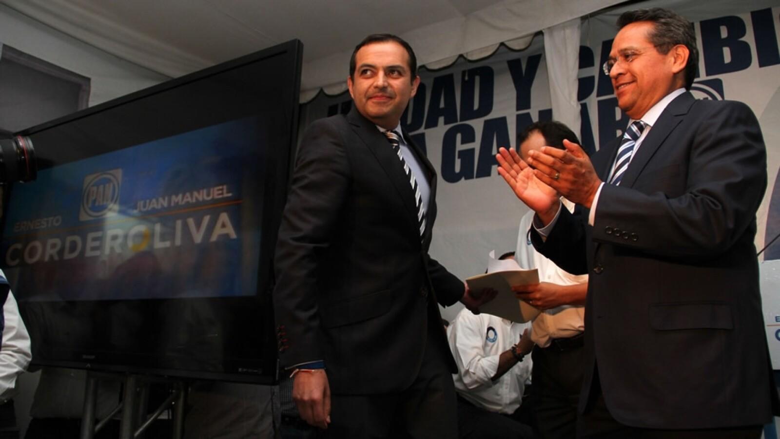 Ernesto Cordero derrota