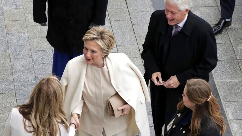 La llegada de Clinton