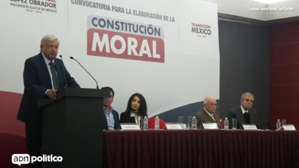 AMLO - Constitución Moral