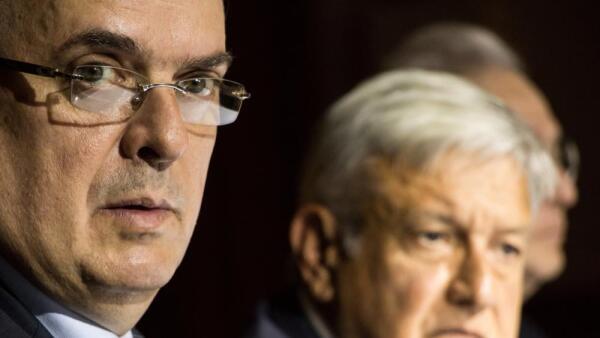 AMLO designa a Marcelo Ebrard próximo canciller de México
