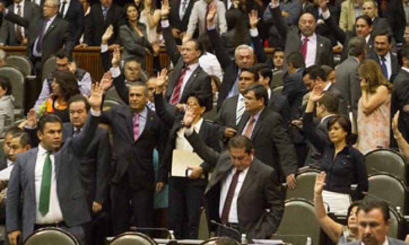 El dictamen fue aprobado en lo general por 287 votos a favor. (Foto: Notimex)