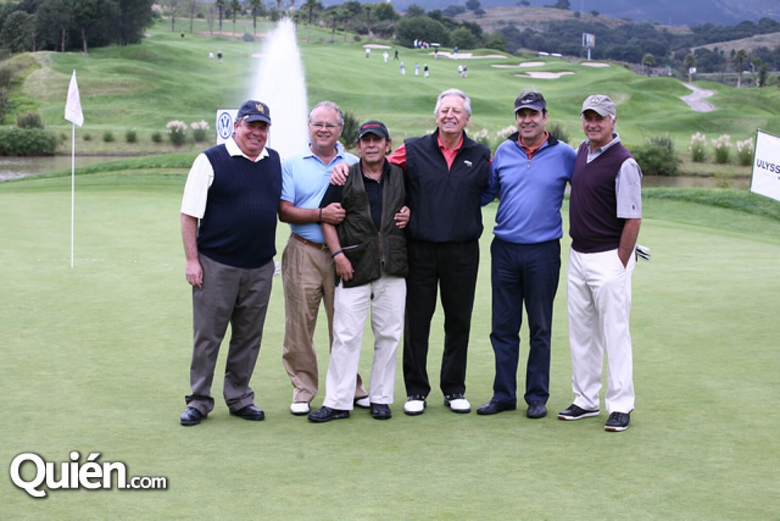 Carlos Aguirre,Rodrigo Lebois,Eduardo Ovejas,Manuel Weinberg,Arturo David,Jaime Prieto