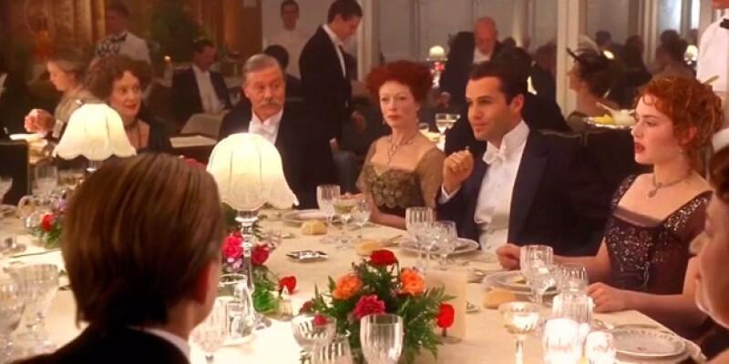 La comida que sirvieron en Titanic cambió considerablemente de una clase a otra.