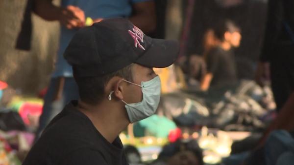 La salud de los migrantes en caravana se ve mermada