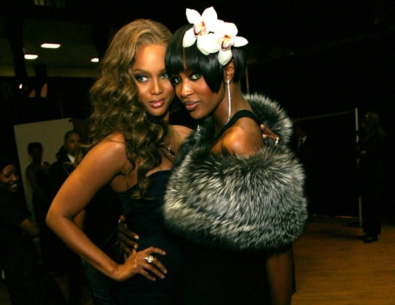 Naomi Campbell y Tyra Banks ¿frienemies forever?
