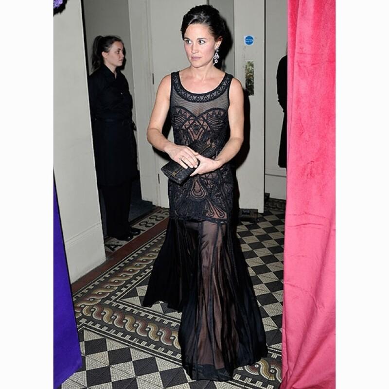Pippa da siempre muestra de buen gusto y vanguardia al vestir.
