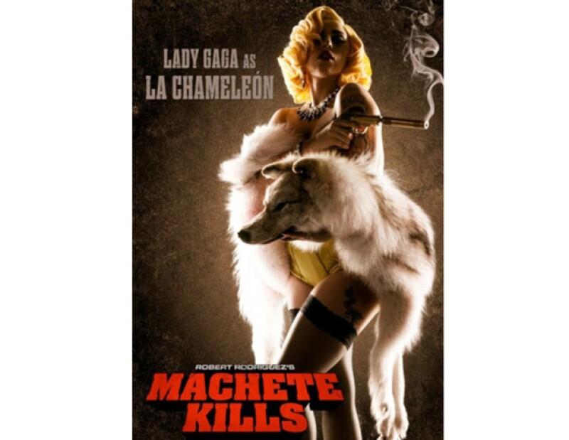 Confirmado, la cantante formará parte en la nueva película de Robert Rodriguez, Machete donde interpretará a `La Chameleón´.