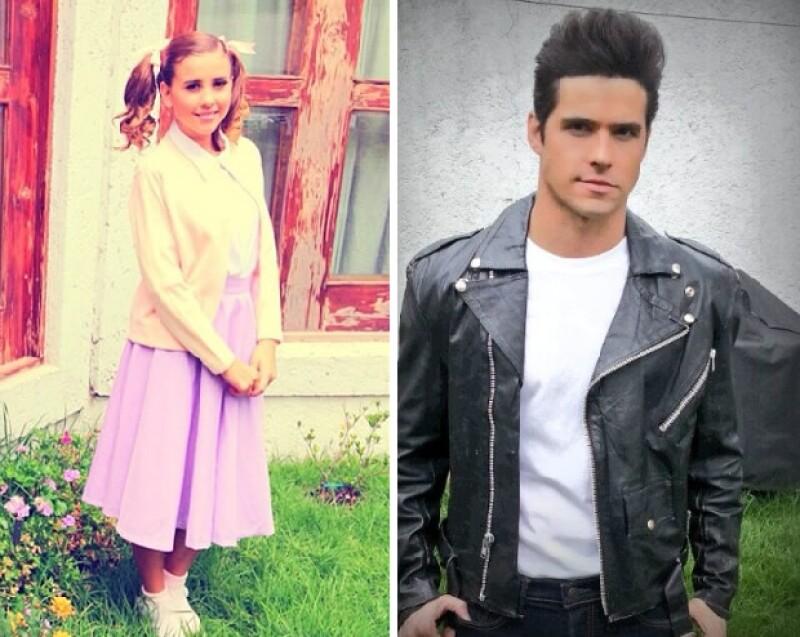 Ambos son integrantes del grupo EME 15. Paulina tiene 22 años y Eleazar 27.