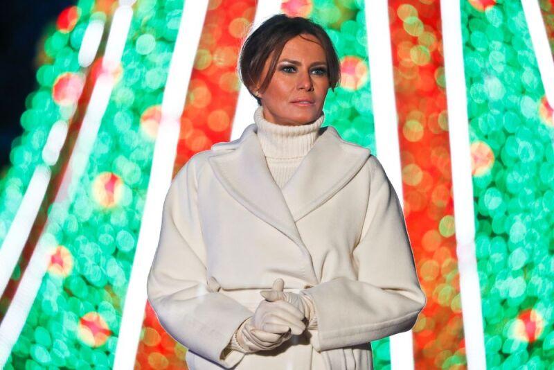 Melania Trump prepara la navidad en la Casa Blanca 1.jpg