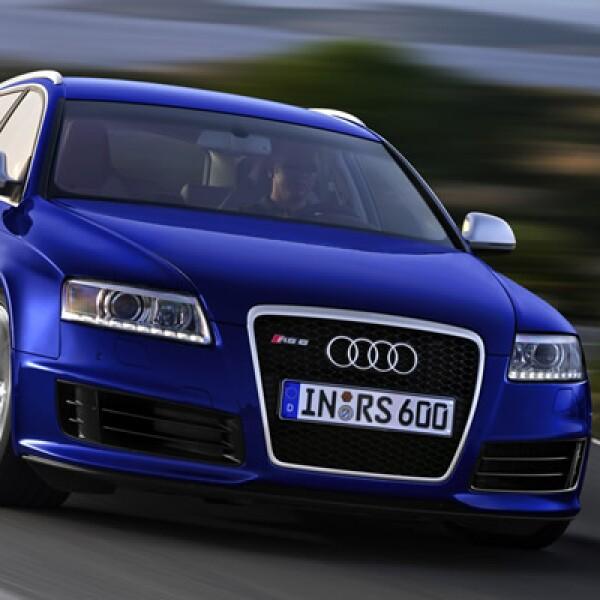 Para celebrar en México los 100 años de la marca, Audi presenta la Edición Especial 100 Años de los modelos Audi A3, A3 Sportback, A4, A6, TT Coupé y Q7. En la foto, un Audi RS6.