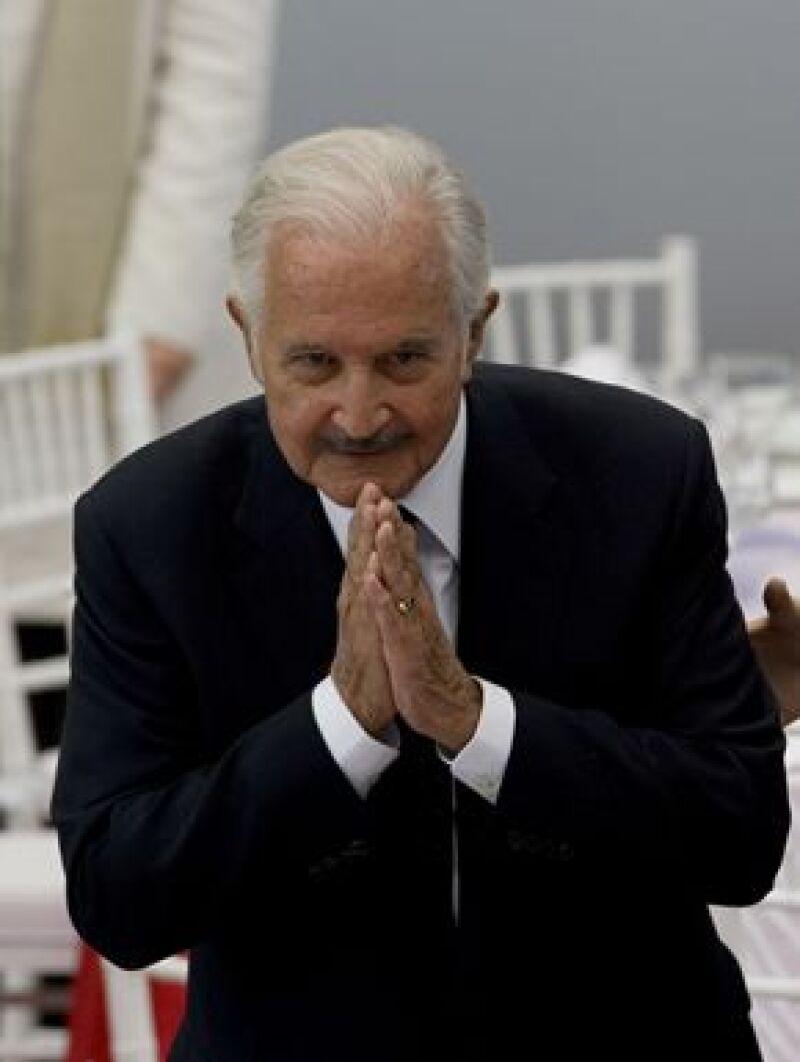El Homenaje Nacional a Carlos Fuentes inició este lunes 17 en el Castillo de Chapultepec.